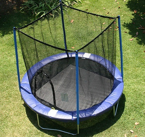 AirZone Outdoor Spring Trampoline With Safety Enclosure