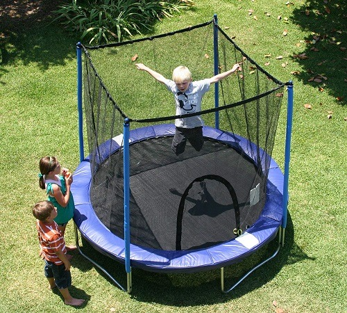 Trampoline Parts Walmart: Best 8ft Trampoline (With Enclosre)For Kids & Adults In 2019