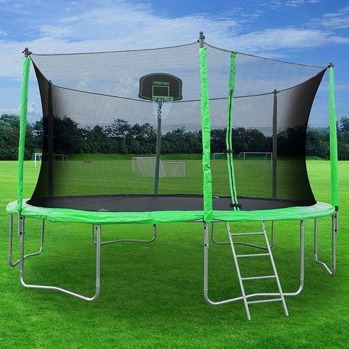 Best Cheap Trampoline (With Enclosures/Net, Square, Big