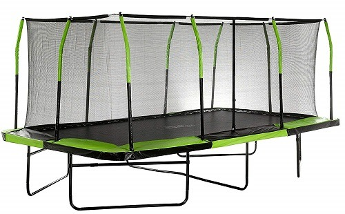 Best Rectangle Trampoline Cheap Net Big Small Long 15 17ft