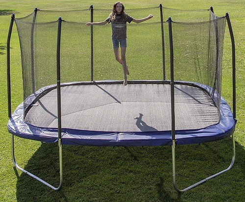 15 Ft Trampolines With Enclosure Round Square Amp Rectangular