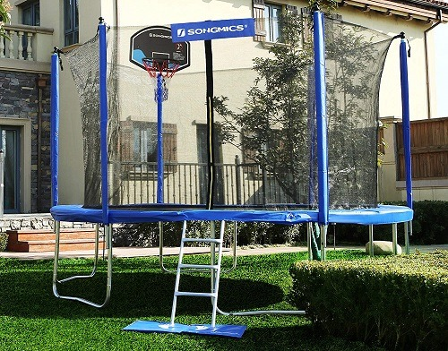 Best Trampolines With Basketball Hoop & Attachments