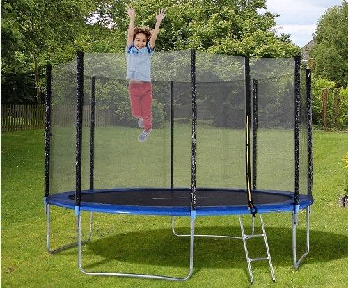Best Outdoor/Outside Trampoline With Net For Backyard & Garden